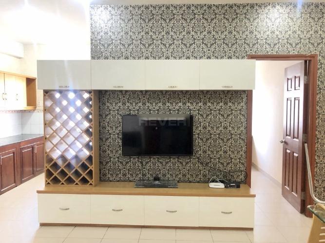 Phòng khách chung cư 26 Nguyễn Thượng Hiền, Gò Vấp Căn hộ chung cư Nguyễn Thượng Hiền hướng Đông, đầy đủ nội thất.