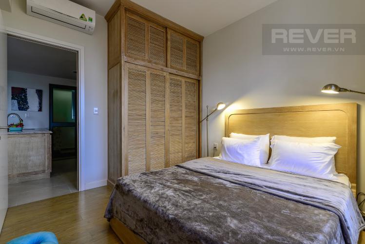 Phòng Ngủ 1 Căn hộ Masteri Thảo Điền tầng trung 3PN, đầy đủ nội thất