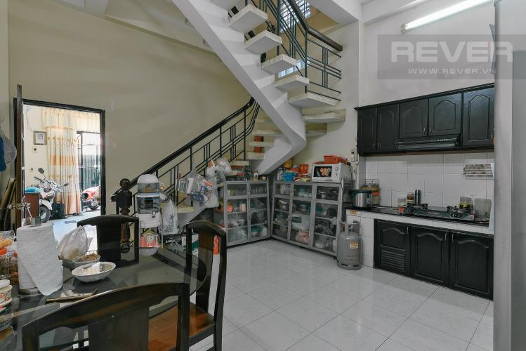 Phòng ăn và bếp nhà phố Bình Thạnh Bán nhà hẻm ô tô quay đầu, gần vòng xoay Điện Biên Phủ, Quận Bình Thạnh, diện tích 204m2, pháp lý sổ đỏ