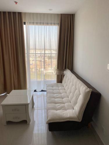 Phòng khách căn hộ Vinhomes Grand Park Căn hộ Vinhomes Grand Park đầy đủ nội thất tiện nghi, view thoáng mát.