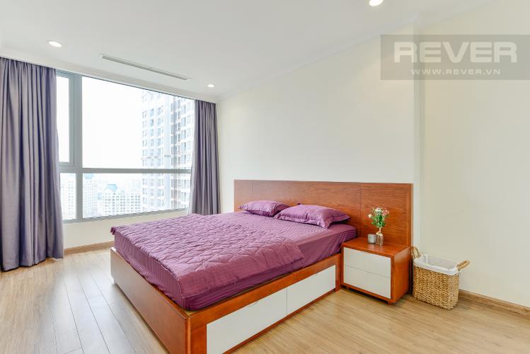 Phòng ngủ 2 Căn góc Vinhomes Central Park 2 phòng ngủ tầng trung L3 đầy đủ nội thất