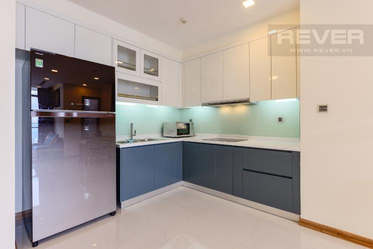 Bếp Căn hộ Vinhomes Central Park 2 phòng ngủ, tầng cao P6, nội thất đầy đủ
