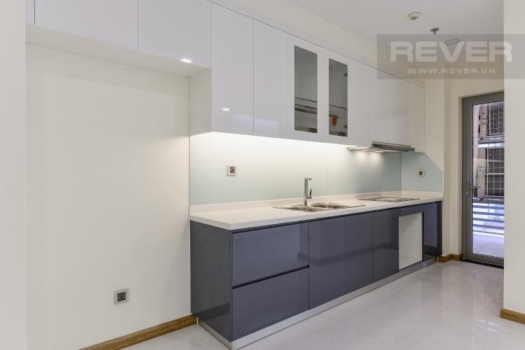 Bếp Căn góc Vinhomes Central Park 3 phòng ngủ tầng trung P3 mới bàn giao