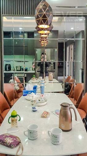 Phòng Ăn Bán hoặc cho thuê căn hộ M-One Nam Sài Gòn, 77,71m2 3PN 2WC, đầy đủ nội thất