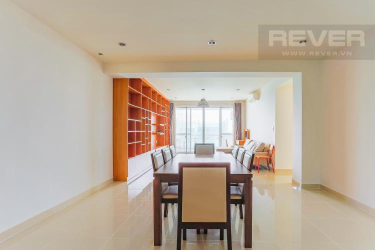 Phòng Ăn Căn hộ Riverpark Residence 3 phòng ngủ tầng thấp view sông