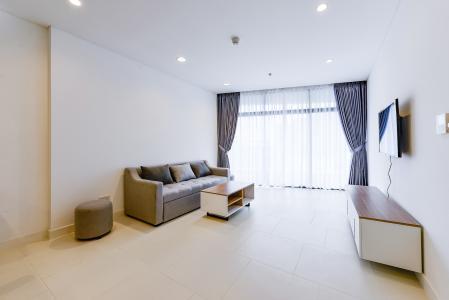 Cho thuê căn hộ City Garden 1PN, tầng cao, đầy đủ nội thất