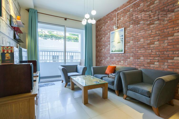 Phòng Khách Căn hộ Lexington 3 phòng ngủ tầng thấp tòa LA view nội khu