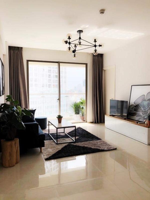 fb5b73b08dc96b9732d8 Cho thuê căn hộ Masteri Millennium 2PN, tầng cao, block B, đầy đủ nội thất, view thành phố