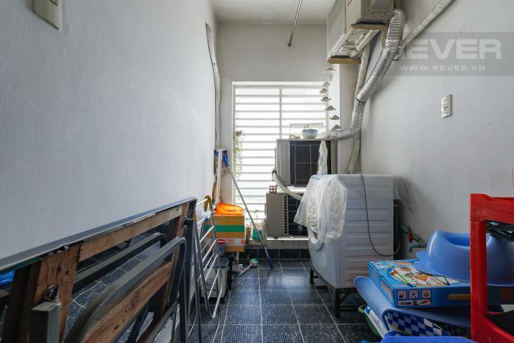 Logia Căn hộ chung cư Copac Quận 4 2PN đầy đủ nội thất, view sông