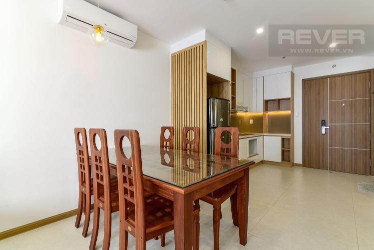Phòng Ăn Cho thuê căn hộ New City Thủ Thiêm hướng Đông Bắc, gồm 1PN 1WC, view sông