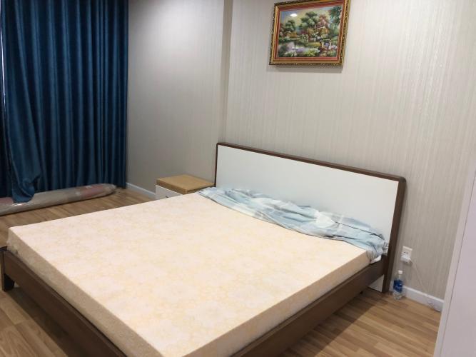 phòng ngủ căn hộ city gate Căn hộ City Gate tầng cao, bàn giao nội thất đầy đủ.