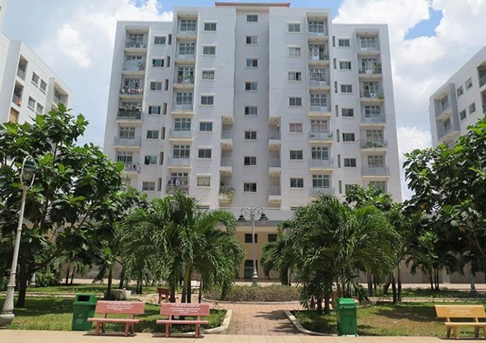 Chung cư Gia Phát Apartment, Gò Vấp Penthouse Gia Phát Apartment view tầng cao thoáng mát, nhìn ra thành phố.