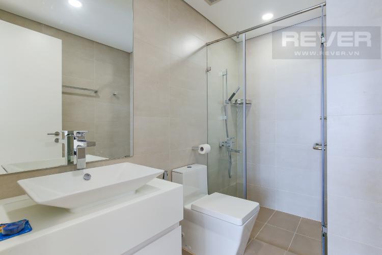 Phòng Tắm 1 Cho thuê căn hộ Masteri Millennium tầng trung, 2PN, nội thất đầy đủ