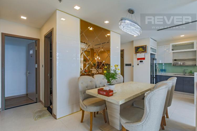 Bàn Ăn Bán căn hộ Vinhomes Central Park tầng trung tháp Park 1, 4PN 3WC, đầy đủ nội thất, view sông Sài Gòn
