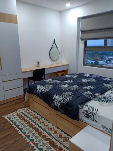 Phòng ngủ căn hộ Saigon South Residences Căn hộ Saigon South Residences tầng thấp, đầy đủ nội thất