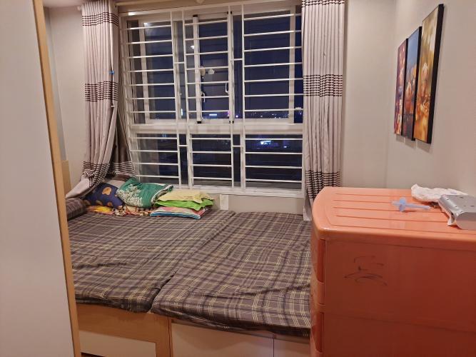 Phòng ngủ The Harmona, Tân Bình Căn hộ The Harmona tầng cao hướng Đông, view thành phố.