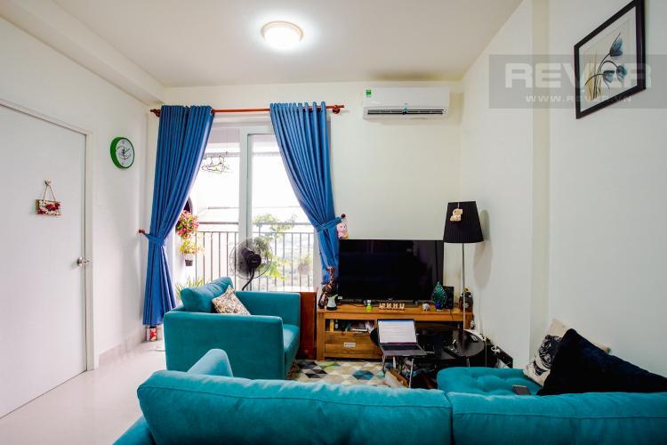 Phòng Khách Bán căn hộ The Park Residence 2 PN tầng cao block B4, diện tích 63m2, đầy đủ nội thất