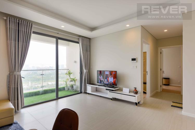 Phòng Khách Bán hoặc cho thuê căn hộ Diamond Island - Đảo Kim Cương 2PN, đầy đủ nội thất, view sông và Landmark 81