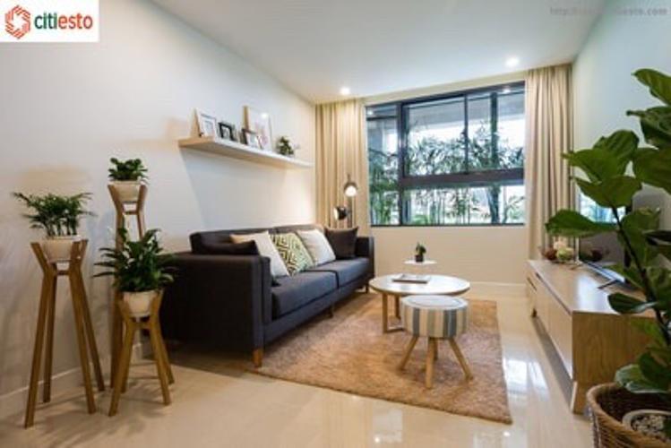Phòng khách căn hộ Citi Esto Bán căn hộ Citi Esto thuộc tầng trung, 3 phòng ngủ, diện tích 100.6m2, chưa bàn giao.