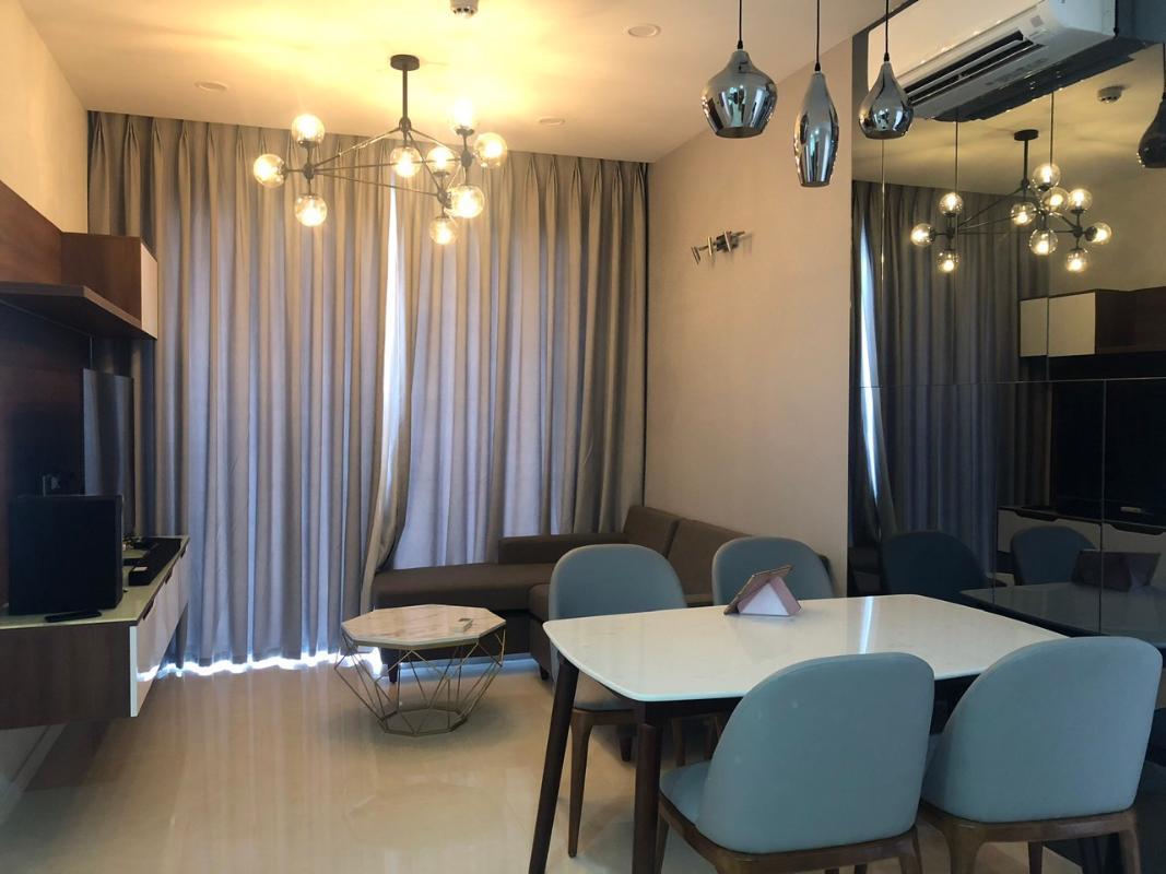 59a224647b399d67c428 Bán căn hộ Masteri Millennium 2PN, block B, đầy đủ nội thất, view Bitexco