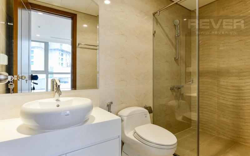 Phòng tắm 1 Căn hộ Vinhomes Central Park tầng cao 2 phòng ngủ tháp L1 view đẹp