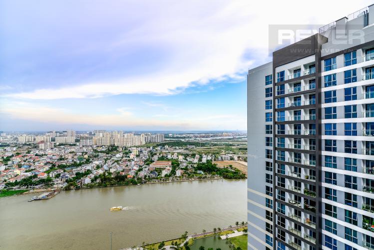 View Căn hộ Vinhomes Central Park tầng cao 3PN view sông Sài Gòn