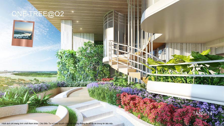 Tiện ích Q2 THAO DIEN, quận 2 Căn hộ Q2 THAO DIEN view sông, nội thất cơ bản