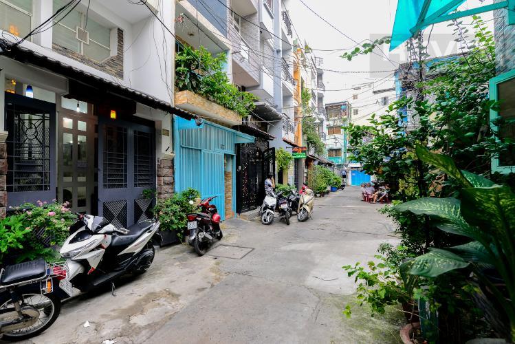 Lộ Giới Cho thuê nhà phố hẻm Nguyễn Thiện Thuật, 2 tầng, 5 phòng ngủ, cách Ngã 6 Lý Thái Tổ 700m
