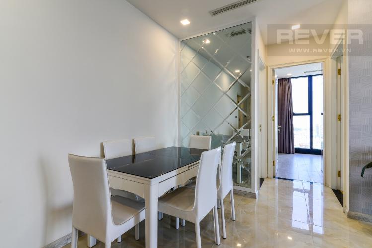 Phòng Ăn Bán và cho thuê căn hộ Vinhomes Golden River tầng cao, 3PN, đầy đủ nội thất, view đẹp