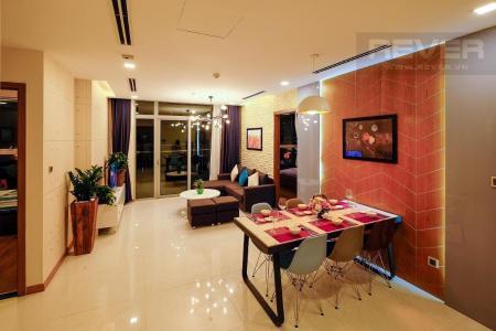 Bán căn hộ Vinhomes Central Park 3PN, tháp Park 1, diện tích 116m2, đầy đủ nội thất