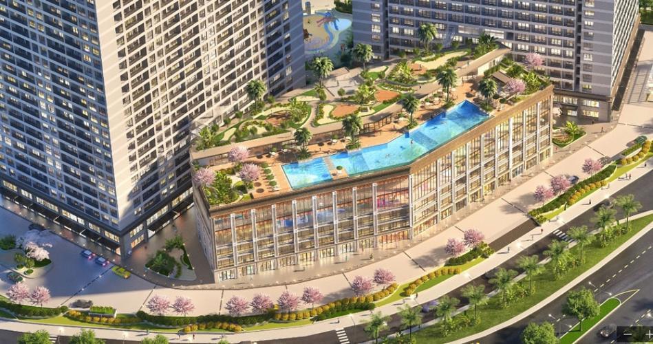 Bán căn hộ Lavida Plus tầng cao view đẹp, diện tích 73m2, kết cấu 2 phòng ngủ, không nội thất.