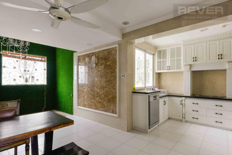 Bếp Bán penthouse chung cư Phú Mỹ 4PN, diện tích 353m2, đầy đủ nội thất, view sông và thành phố