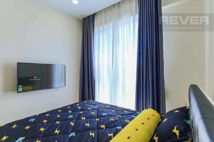Phòng Ngủ 2 Cho thuê căn hộ Masteri Millennium tầng cao, 2PN nội thất đầy đủ, có thể dọn vào ở ngay