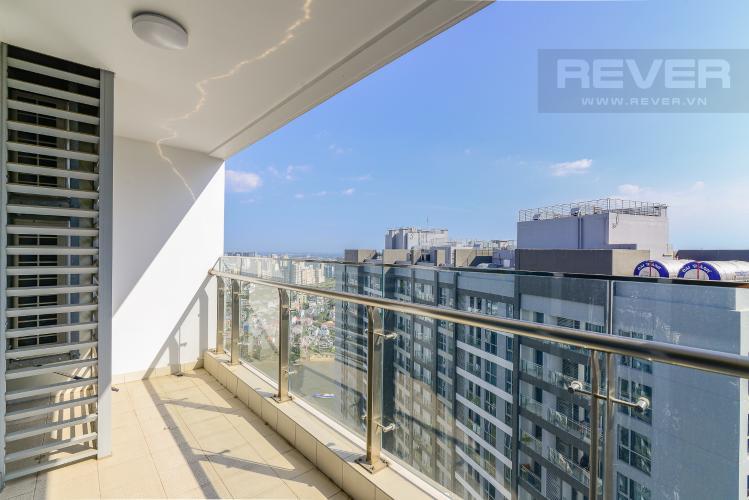 View Balcony Cho thuê căn hộ Vinhomes Central Park tầng cao, 3PN đầy đủ nội thất, tiện nghi, view sông thoáng mát