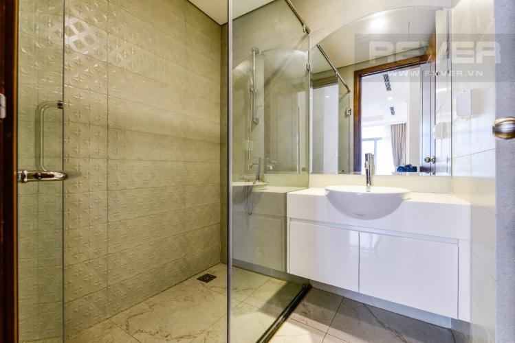 Phòng tắm 2 Cho thuê căn hộ Vinhomes Central Park tầng cao, 3PN, view sông