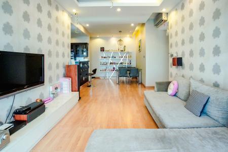 Căn hộ Chung cư Phú Mỹ tầng cao, 3PN, nội thất đầy đủ, view hồ bơi