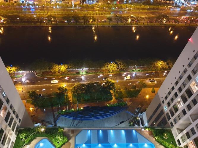 can-ho-THE-GOLD-VIEW Bán căn hộ The Gold View 2PN, tháp A, diện tích 92m2, đầy đủ nội thất