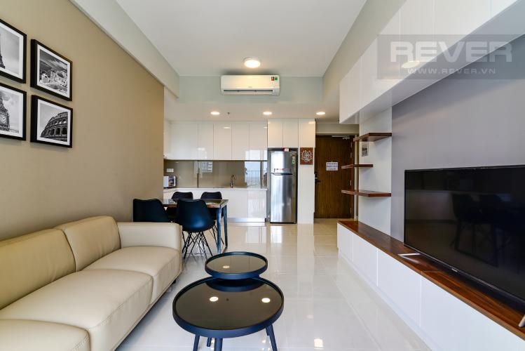 Phòng Khách Cho thuê căn hộ Masteri An Phú, tầng cao, tháp A, đầy đủ nội thất, view Xa lộ Hà Nội