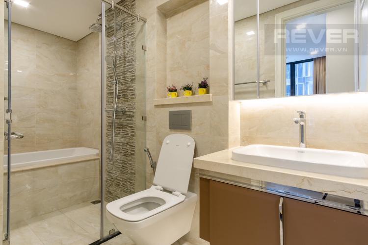 Phòng Tắm 1 Cho thuê căn hộ Vinhomes Golden River 2PN, tầng thấp, tháp The Aqua 1, đầy đủ nội thất