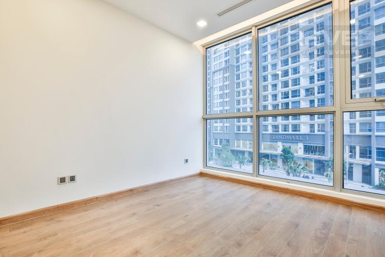 Phòng Ngủ 2 Bán căn hộ Vinhomes Central Park 2PN, tầng thấp, tháp Park 5, nội thất cơ bản, view công viên