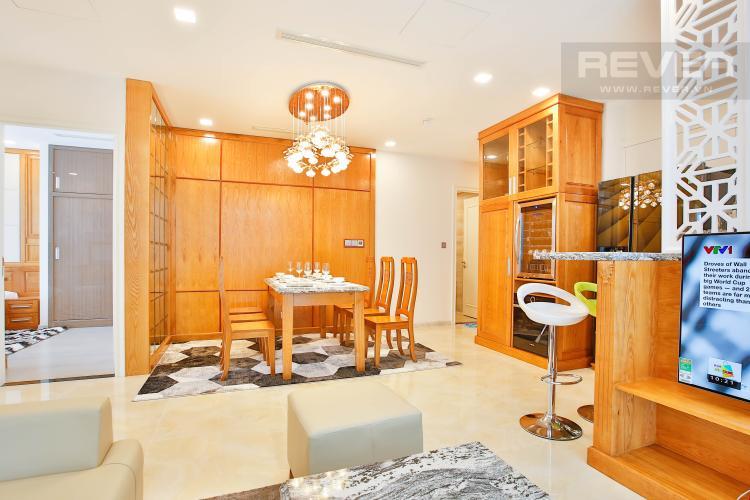 Phòng Khách Căn hộ Vinhomes Golden River 3 phòng ngủ tầng cao A4 view sông