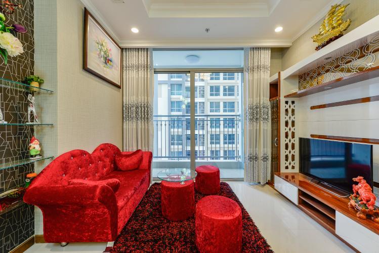 Căn hộ Vinhomes Central Park 2 phòng ngủ tầng trung L5 view nội khu