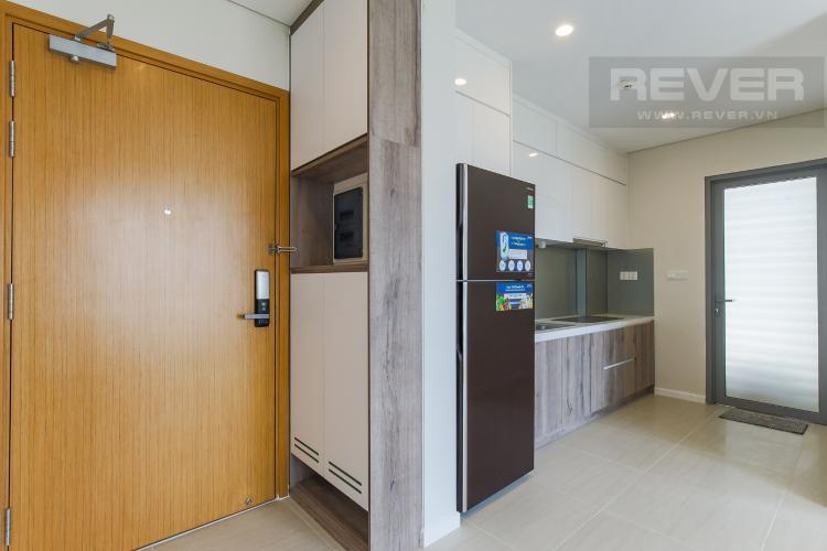Phòng Bếp Cho thuê căn hộ Đảo Kim Cương - Diamond Island 2PN, tháp Canary, đầy đủ nội thất, view sông thoáng mát