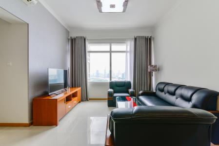 Căn hộ Saigon Pearl 2 phòng ngủ tầng cao tòa Topaz view về Quận 1