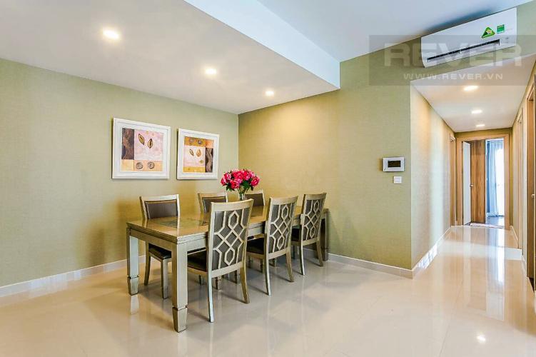 Phòng Ăn và Lobby Bán căn hộ RiverGate Residence hướng Đông Bắc, 114m2, view thành phố