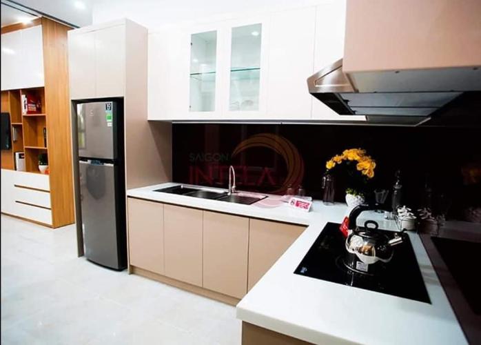Phòng bếp Saigon Intela, Bình Chánh Căn hộ Saigon Intela tầng trung thoáng mát, đầy đủ nội thất tiện nghi.