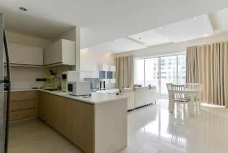 Cho thuê căn hộ The Estella Residence 3PN, tầng trung, đầy đủ nội thất, view hồ bơi và Landmark 81