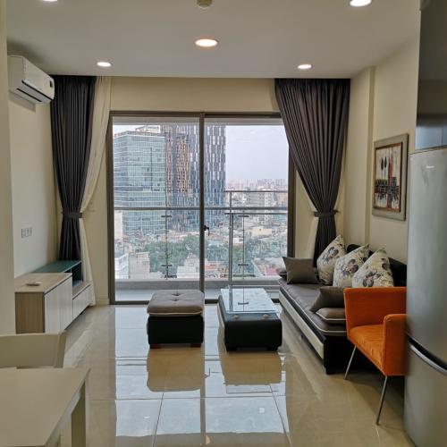 Bán căn hộ Masteri Millennium 2PN, diện tích 65m2, đầy đủ nội thất, view hồ bơi và Quận 4