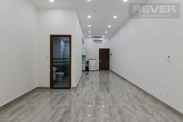 Phòng Khách Cho thuê office-tel The Sun Avenue tầng trệt, diện tích 40m2, đầy đủ nội thất
