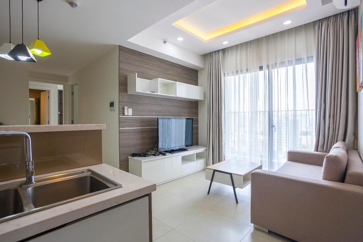 Căn hộ Masteri Thảo Điền 2 phòng ngủ tầng trung T1 đầy đủ tiện nghi